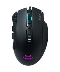 RUSH RM88 BEARCAT GAMING MOUSE 10000 DPI 9D