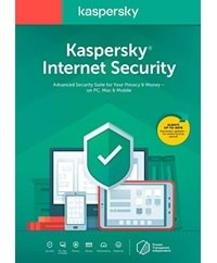 KASPERSKY INTERNET SECURITY 4 KULLANICI 1 YIL
