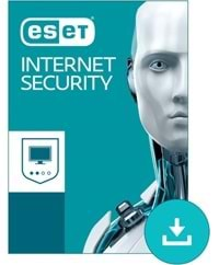 ESET INTERNET SECURITY 3 KULLANICI 1 YIL