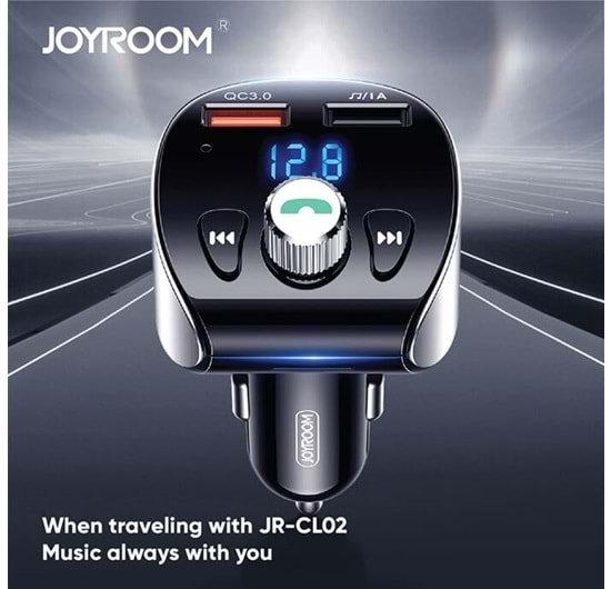JOYROOM JR-CL02 WIRELESS MP3 FOR CAR